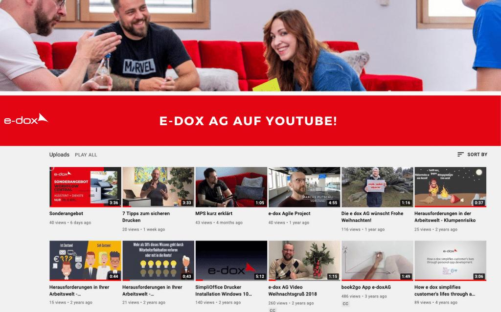Die e-dox AG auf Youtube