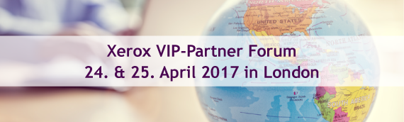 e-dox beim Xerox VIP-Partner Forum am 24. & 25. April 2017