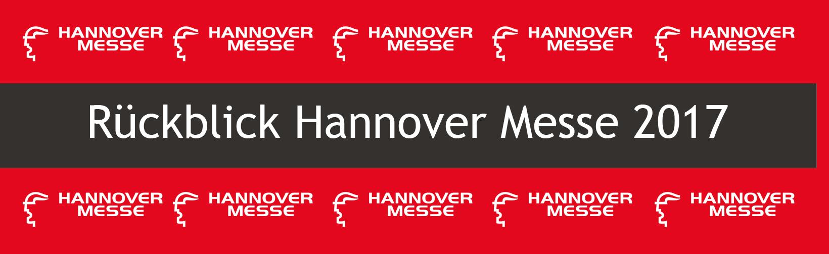 Rückblick zur Hannover Messe 2017