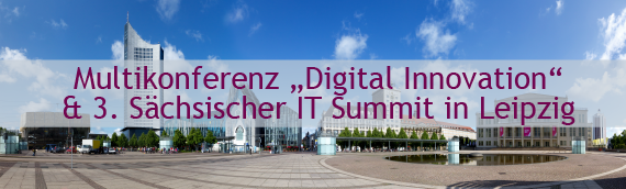 Multikonferenz und 3. IT Summit in Leipzig