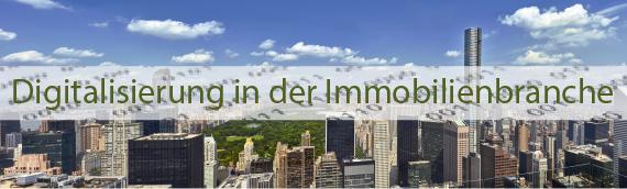 Digitalisierung in der Immobilienbranche