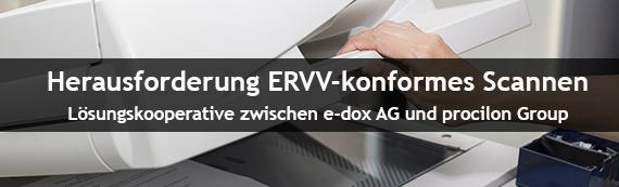 Bundesrat bestätigt ERVV: e-dox AG und procilon Group kooperieren für ERVV konformes Digitalisieren