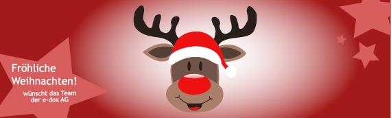 Die e-dox AG wünscht frohe Weihnachten!