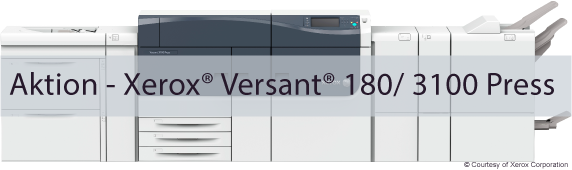 Aktion – Xerox® Versant® 180/ 3100 Press