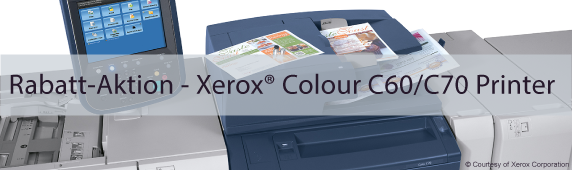 Rabatt-Aktion –  Xerox® Colour C60/C70  Printer