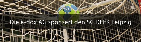 Die e-dox AG sponsert den SC DHfK Leipzig