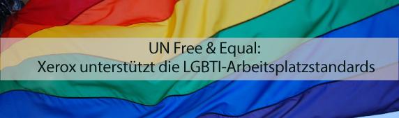 UN Free & Equal: Xerox unterstützt die LGBTI-Arbeitsplatzstandards