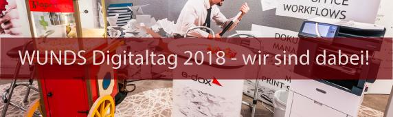 WUNDS Digitaltag 2018 — wir sind dabei!
