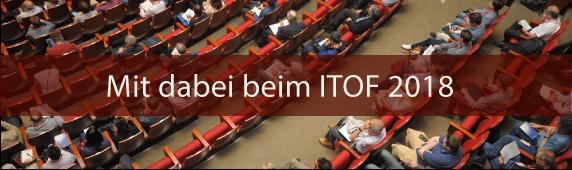 Mit dabei beim ITOF 2018