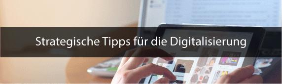 Digitalisierung Strategie Tipps