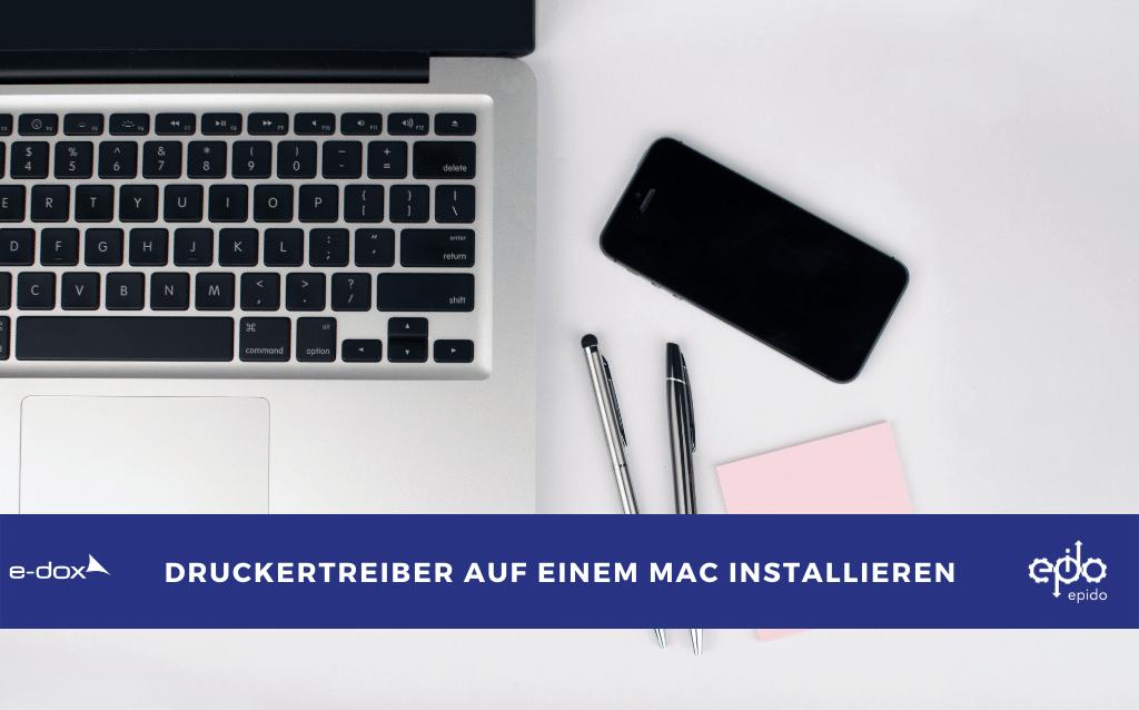 Druckertreiber auf einem MAC installieren
